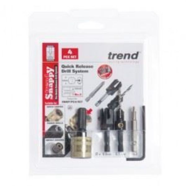TREND SNAPPY PLUG CUTTER NO8 SCREW SNAP/PC8/SET - SOUTH AFRICA