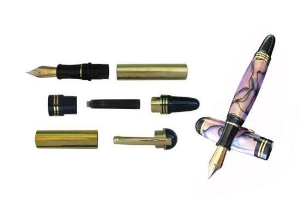 Picture of TOOLMATE CHURCHILL FOUNTAIN SILVER PEN KIT