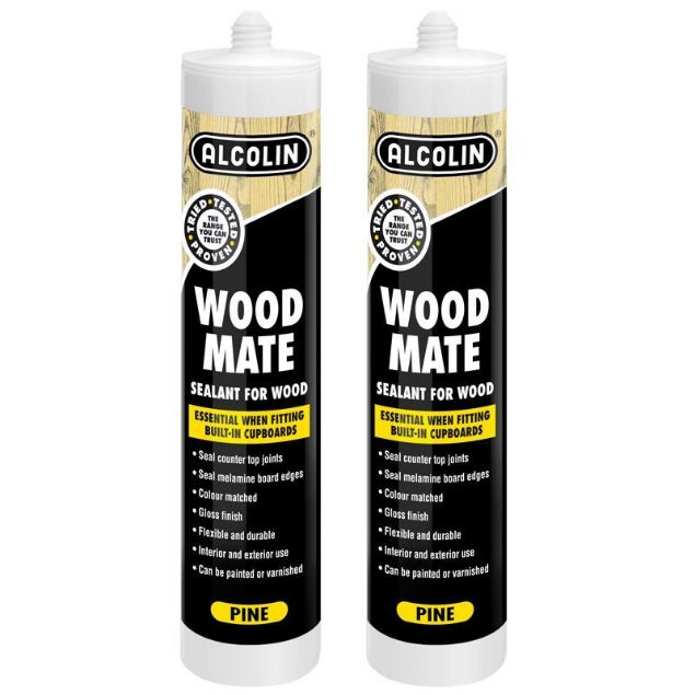 Picture of ALCOLIN  280ML SILICONE WOODMATE MERANTI