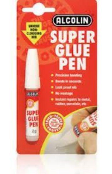 Picture of ALCOLIN  2G GLUE SUPER PEN B/CARD