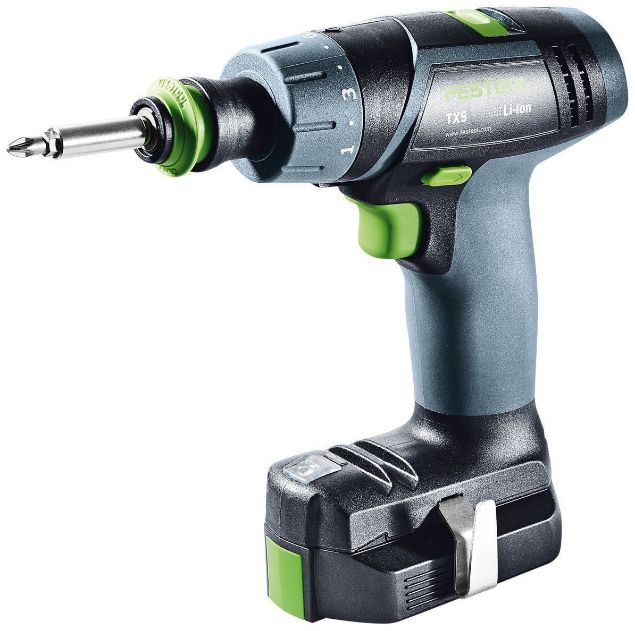 Picture of FESTOOL  TXS LI 2.6 PLUS EU CORDLESS DRILL