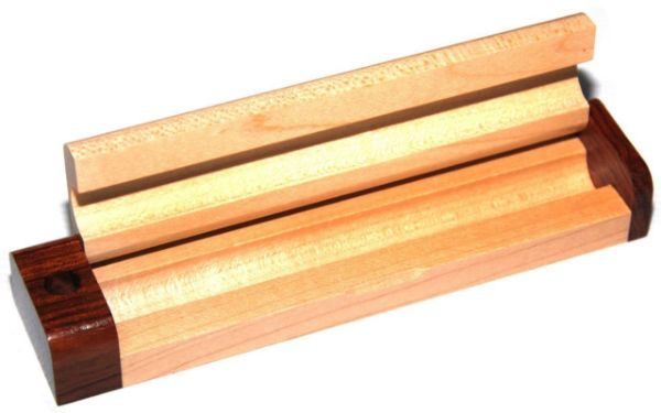 Picture of TOOLMATE 2 TONE SINGLE WOODEN PEN BOX