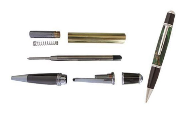 Picture of TOOLMATE GATSBY CHROME PEN KIT