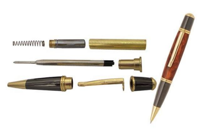 Picture of TOOLMATE PEN KIT GATSBY GUN METAL & GOLD