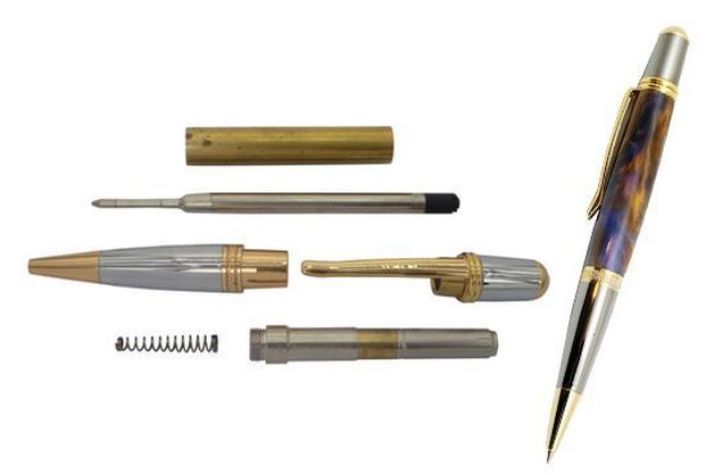 Picture of TOOLMATE SIERRA GOLD & CHROME PEN KIT