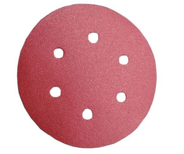 Picture of AMPOL P80 150MM SANDING DISC WITH HOLES