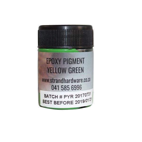 Picture of EPOXY PIGMENT YELLOW GREEN