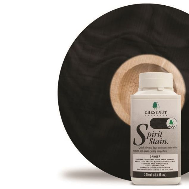 Picture of CHESTNUT 500ML BLACK SPIRIT STAIN