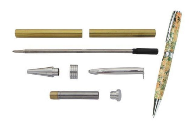 Picture of TOOLMATE STREAMLINE CHROME PEN KIT