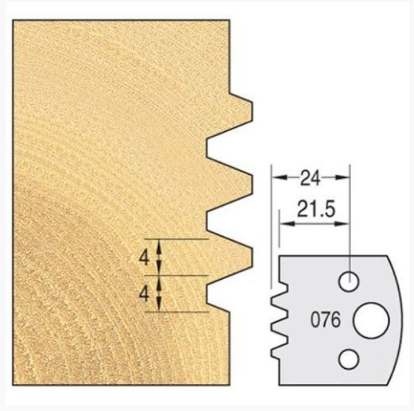 Picture of KNIFE 40MM x 4MM FOR SPINDLE CUTTER PAIR NO 76