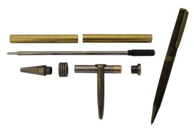 Picture of TOOLMATE STREAMLINE ANTIQUE BRONZE PEN KIT