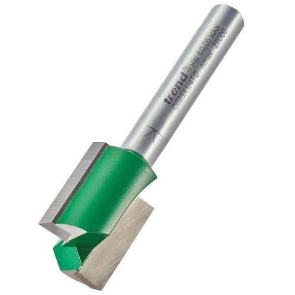 TREND TWO FLUTED R/BIT 15.9 MM 25.4 MM CUT - SOUTH AFRICA