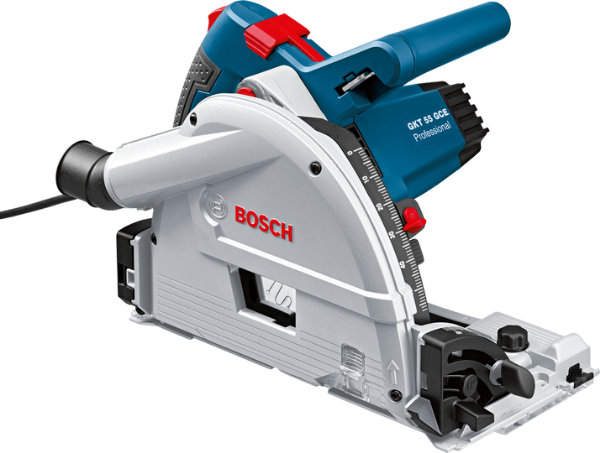Picture of BOSCH GKT55GCE  PLUNGE RAIL SAW WITH TRACK