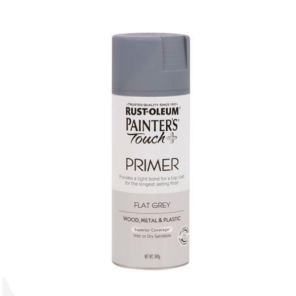 Rust-Oleum Spray Paint Grey Primer Painters Touch