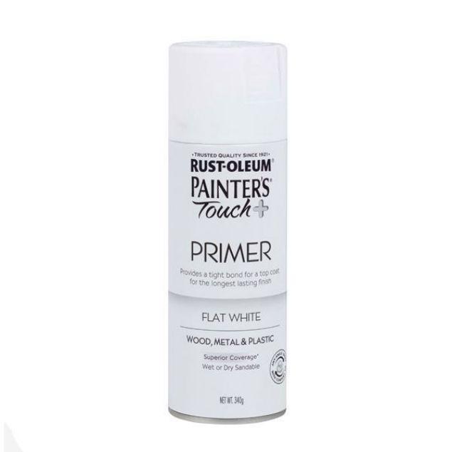 Rust-Oleum Spray Paint White Primer Painters Touch