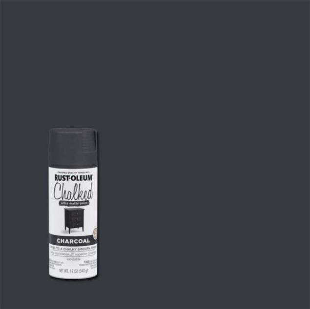 Rust-Oleum Chalked Spray Pain Charcoal
