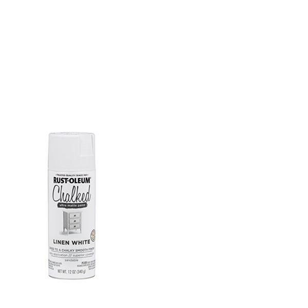 Rust-Oleum Chalked Spray Paint Linen White
