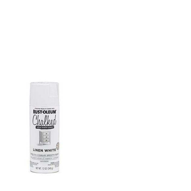Rust-Oleum Chalked Spray Paint Linen White