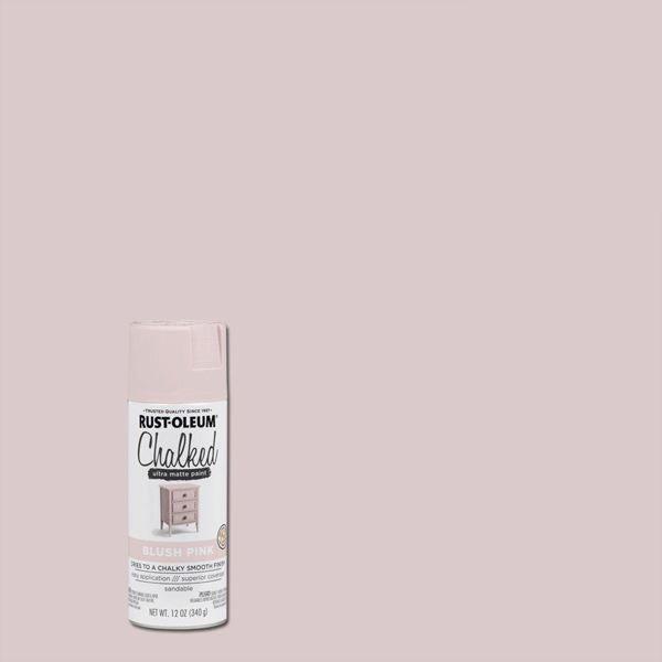 Rust-Oleum Chalked Spray Paint Blush Pink