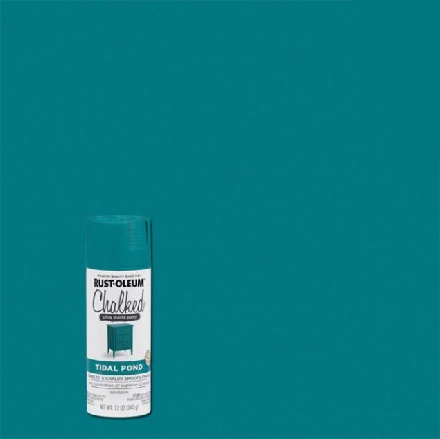 Rust-Oleum Chalked Spray Paint Tidal Pond