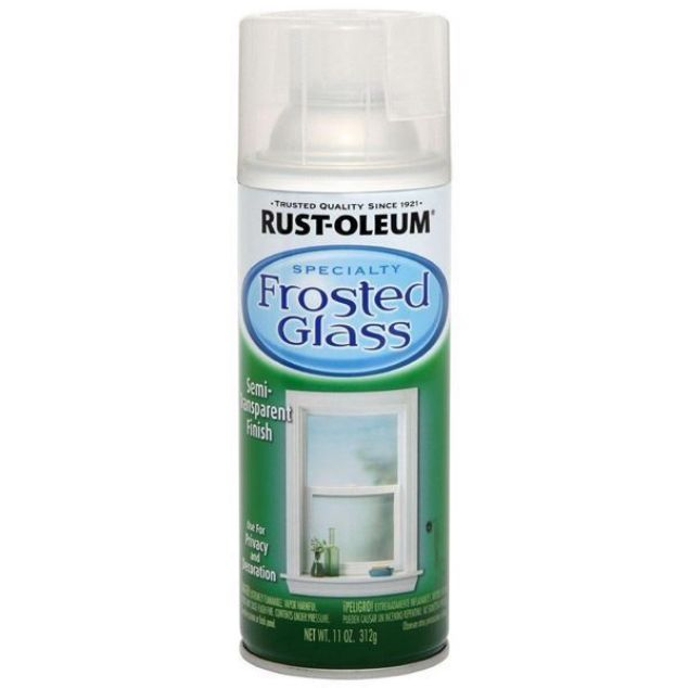 Rust-Oleum Spray Frosted Glass Clear