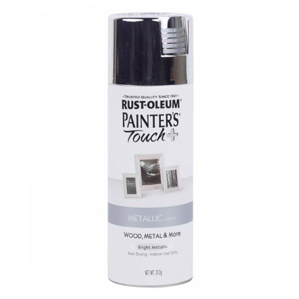 Rust-Oleum Spray Paint Silver Painters Touch