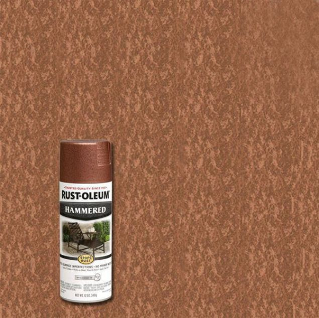 Rust-Oleum Spray Paint Hammered Copper