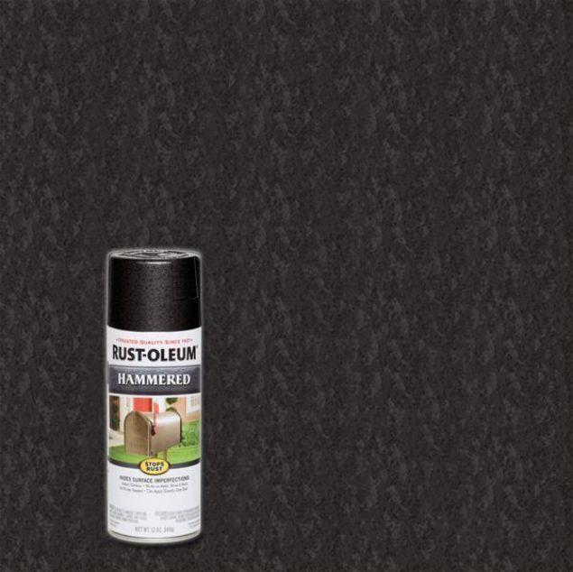 Rust-Oleum Spray Paint Hammer Black