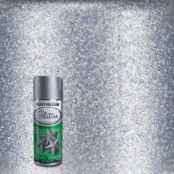 Rust-Oleum Spray Paint Glitter Silver