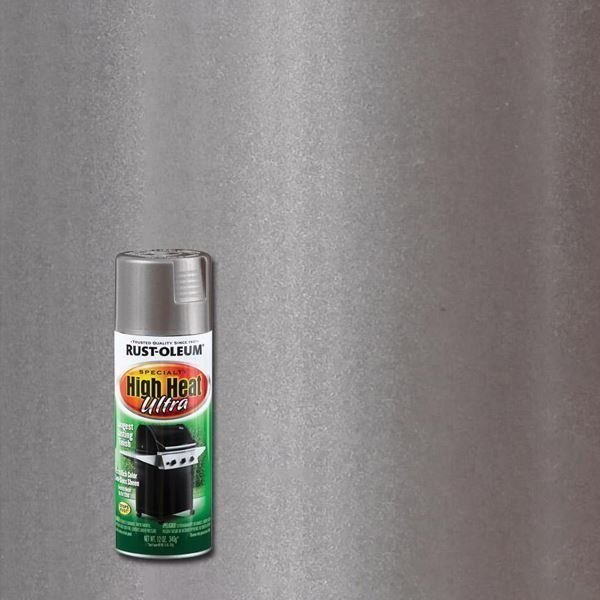 Rust-Oleum Spray Paint High Heat Ultra Silver