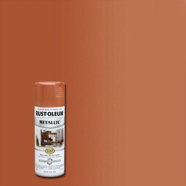 Rust-Oleum Spray Paint Metallic Copper