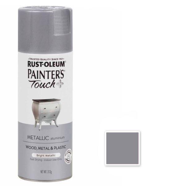 Rust-Oleum Spray Paint Aluminium Painters Touch