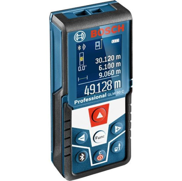 Picture of BOSCH 0.08-120M LASER MEASURE  WITH ZOOM