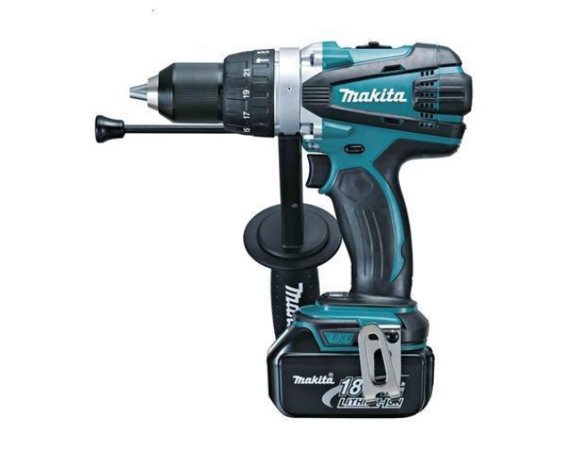 MAKITA CORDLESS IMPACT DRILL KIT 18V DHP458B2 WITH BATTERIES & CHARGER  EXCLUSIVE TO STRAND HARDWARE