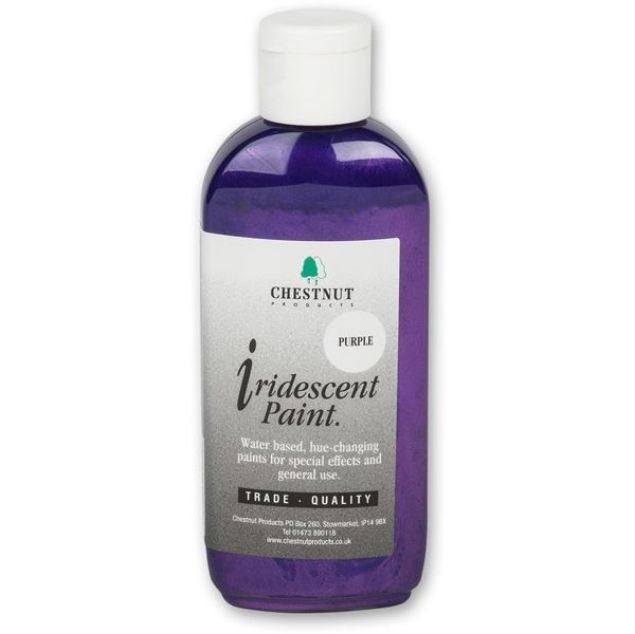 Picture of CHESTNUT IRIDESCENT PAINT PURPLE
