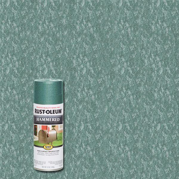 Rust-Oleum Spray Paint Hammered Verde Green