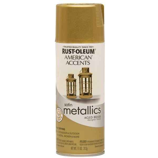 Rust-Oleum Spray Paint Aged Brass