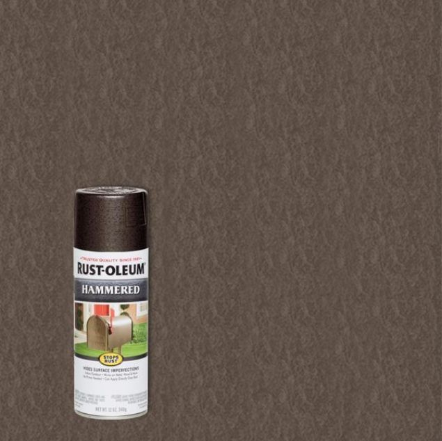 Rust-Oleum Spray Paint Hammered Dark Bronze