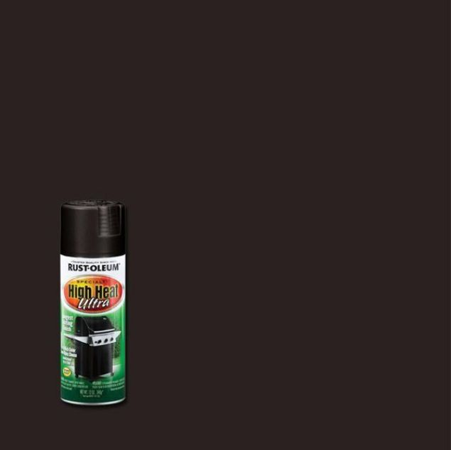 Rust-Oleum Spray Paint Heat Ultra Black