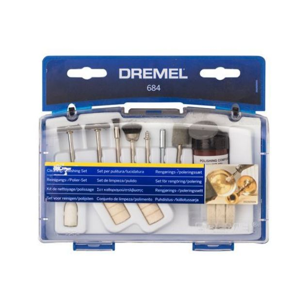 Picture of DREMEL 20PCS CLEANING/POLISHING SET
