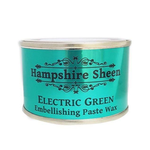 Hampshire Sheen Electric Green Embellishing Wax  South Africa