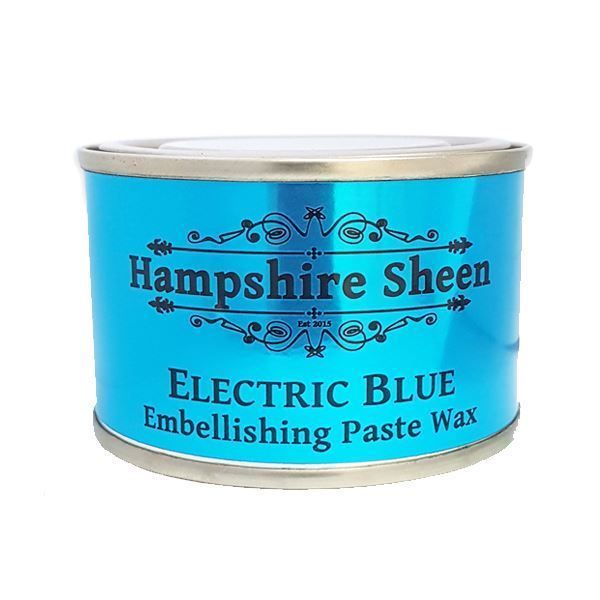 Hampshire Sheen Electric Blue Embellishing Wax  South Africa