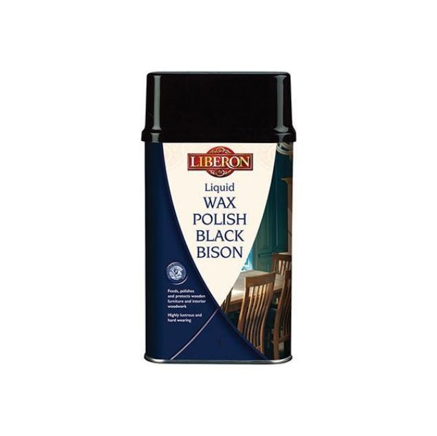 Picture of LIBERON BLACK BISON LIQUID POLISH CLEAR 500ML