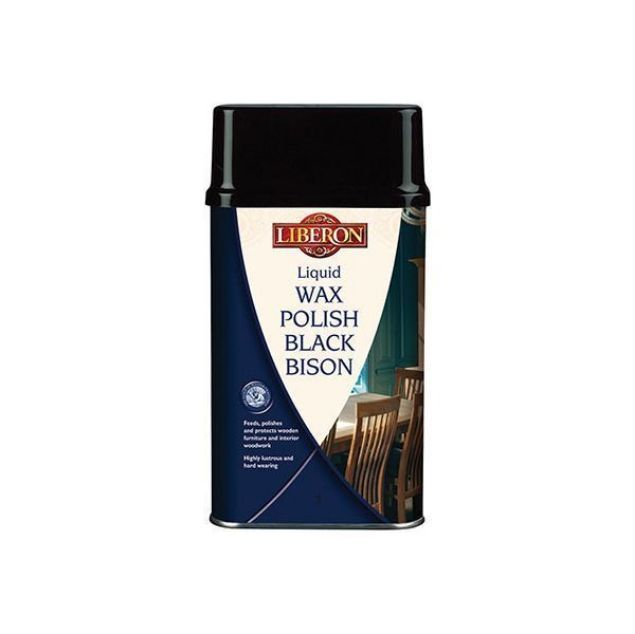 Liberon Black Bison Liquid Wax Polish Medium Oak South Africa