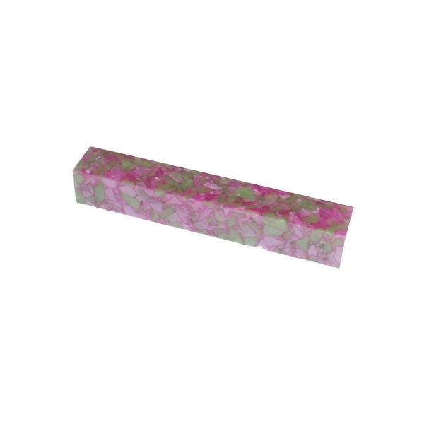 Picture of Toolmate Crush Acrylic Pen Blank Pink Green