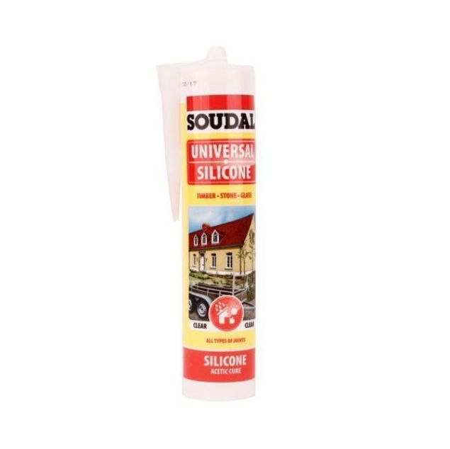 Soudal Universal Silicone Clear 270ml
