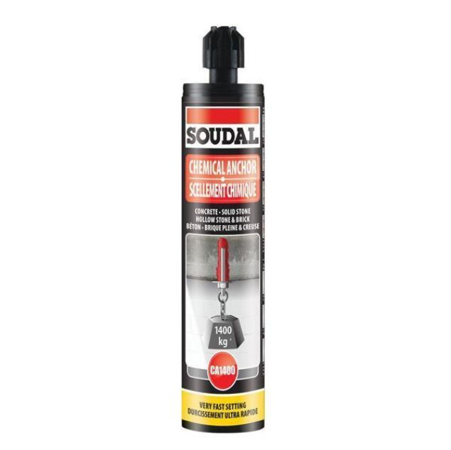 Soudal Chemical Anchor Ca1400 280ml
