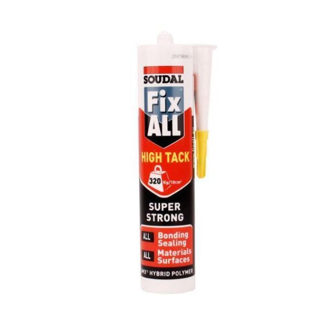 Soudal Paint Fix All White 290ml