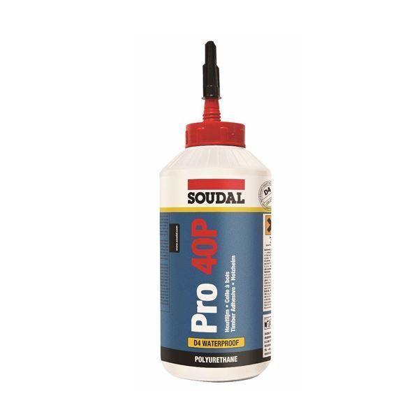 Soudal 40P Wood Glue Pro 750g