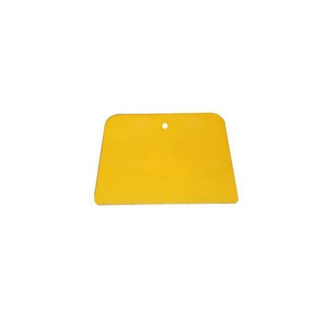 Plastic Resin Spatula Applicator 100mm - Yellow